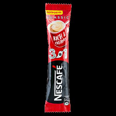напиток кофейный Нескафе Классик 3 в 1 16 г  1уп.х20шт.