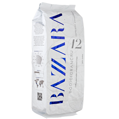 кофе BAZZARA Dodicigrancru 1кг зерно 1 уп.х 6 шт.