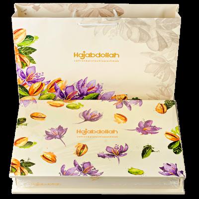 конфеты HAJABDOLLAH saffron & pistachiopashmak 300 г 1 уп.х 5 шт.