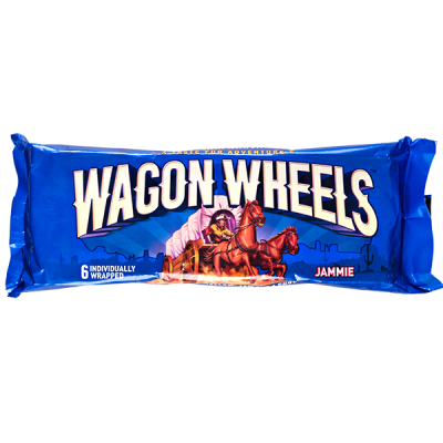 печенье WAGON WHEELS JAMMIE 228 г 1 уп.х 24 шт.