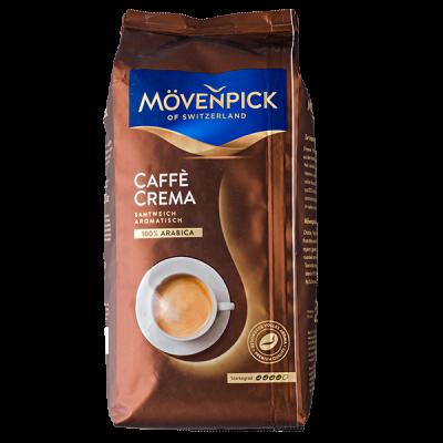 кофе MOVENPICK CAFFE CREMA 1 кг зерно 1 уп.х 8 шт.