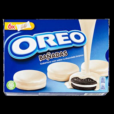 печенье Орео Banadas в белом шоколаде 246 г 1 уп.х 10 шт.