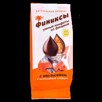 конфеты Финиксы с Апельсином в Шок Глазури 180 г 1 уп.х 10 шт.