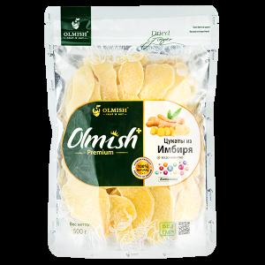 OLMISH Premium Цукаты из Имбиря 500 г 1уп.х 30 шт.