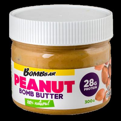 паста BOMBBAR PEANUT арахисовая 300 г 1 уп.х 12 шт.