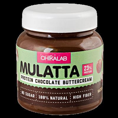 паста CHIKALAB MULATTA шоколадная с фундуком  250 г 1 уп.х 12 шт.