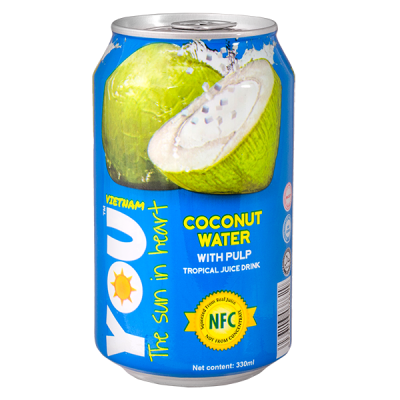 напиток YOU VIETNAM Coconut Water 330 мл  Ж/Б 1 уп.х 24 шт.