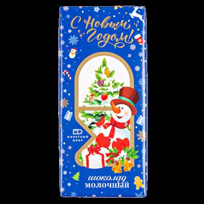 шоколад МД Новогодний 85 г 1уп.х 20 шт.