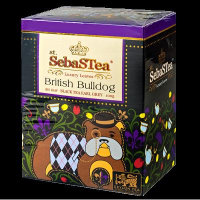 чай St.SebaSTea British Bulldog 100 г 1 уп.х 24 шт.