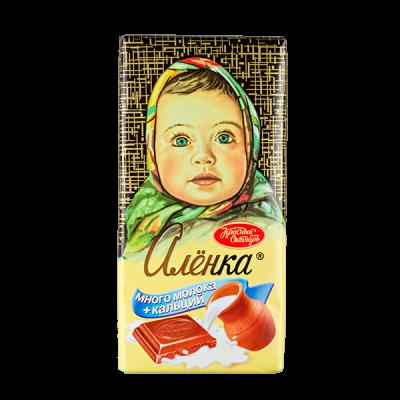 шоколад Аленка Много молока 100 г 1 уп * 13 шт