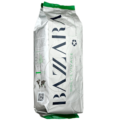 кофе BAZZARA Dolcevivace 1кг зерно 1 уп.х 6 шт.