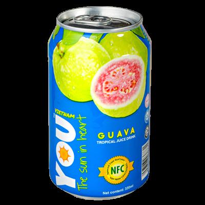напиток YOU VIETNAM Guava 330 мл  Ж/Б 1 уп.х 24 шт.