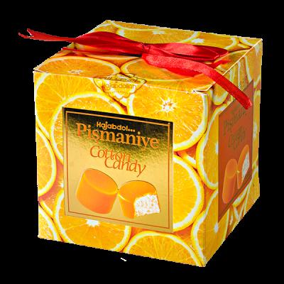 конфеты HAJABDOL... Pismaniye Cotton Candy апельсин 300 г 1 уп.х 9 шт.
