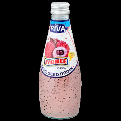 напиток BASIL SEED DRINK RIVA Lychee 290 МЛ СТ/Б 1 уп.х 24 шт.