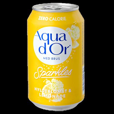 напиток AQUA DOR Hyldeblomst & Lemonade 330 мл Ж/Б 1 уп.х 24 шт.