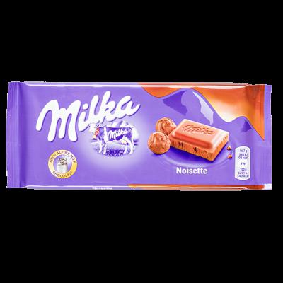 шоколад Милка Noisette 100 г 1 уп.х 23 шт.