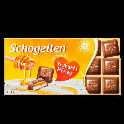 шоколад SCHOGETTEN Yoghurt- Honey 100 г 1уп. х 15шт.
