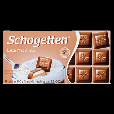 шоколад SCHOGETTEN Latte Macchiato 100 г 1уп. х 15шт.