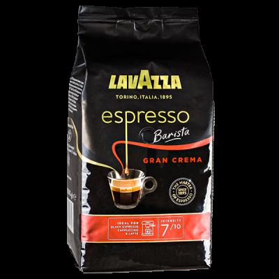 кофе LAVAZZA ESPRESSO BARISTA GRAN CREMA 1 кг зерно 1 уп.х 6 шт.