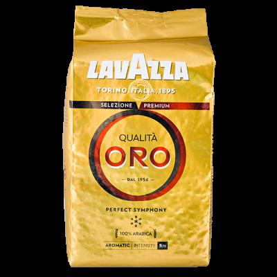 кофе LAVAZZA QUALITA ORO 1 кг зерно 1 уп.х 6 шт.