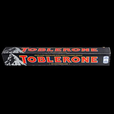 шоколад Тоблерон Темный с медово-миндальной нугой 100 г 1 уп.х 20 шт.