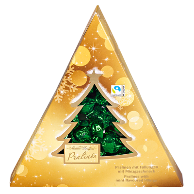 конфеты НГ MAITRE TRUFFOUT Pralines Елка 148 г 1 уп.х 12 шт.
