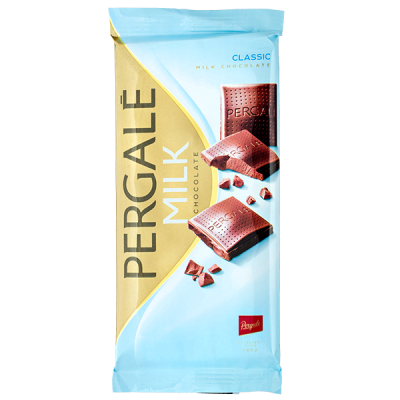 шоколад PERGALE MILK CLASSIC 93 г 1 уп. х 22 шт.