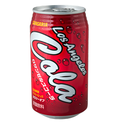 напиток SANGARIA Cola Los Angeles 350 мл Ж/Б 1 уп.х 24 шт.
