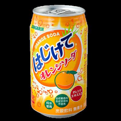 напиток SANGARIA Orange Soda 350 мл  Ж/Б 1 уп.х 24 шт.