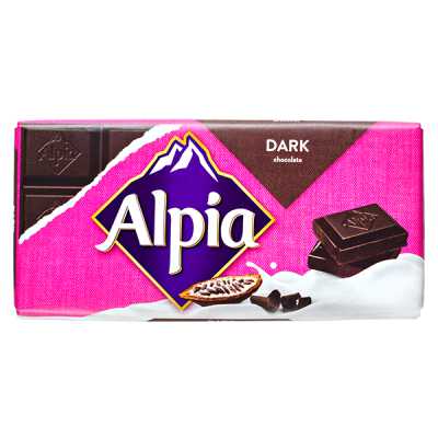 шоколад Alpia Dark 100 г 1уп.х 20шт