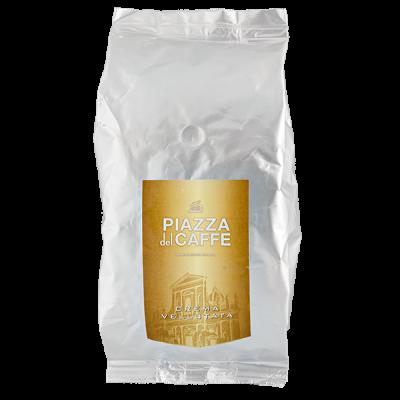кофе PIAZZA del CAFFE CREMA VELLUTATA 1 кг зерно 1 уп.х 6 шт.