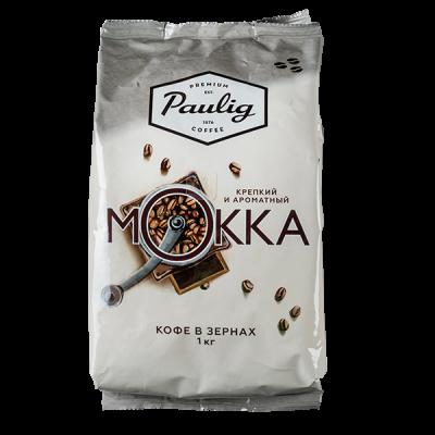 кофе PAULIG MOKKA 1 кг зерно 1 уп.х 4 шт.