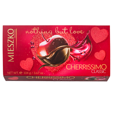 конфеты MIESZKO CHERISSIMO CLASSIC 104 г 1 уп.х 18 шт.