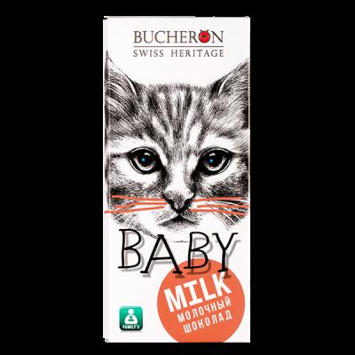 шоколад BUCHERON BABY молочный 50 г 1 уп.х 10 шт.