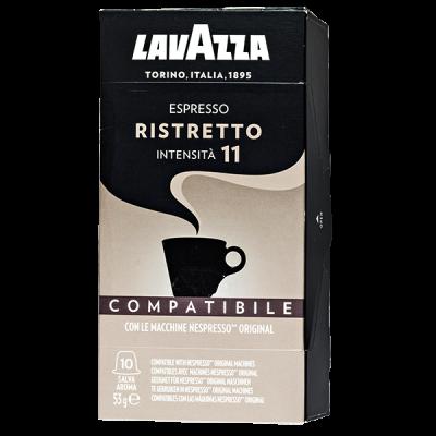 кофе капсулы LAVAZZA Espresso Ristretto 1уп х 10 капсул