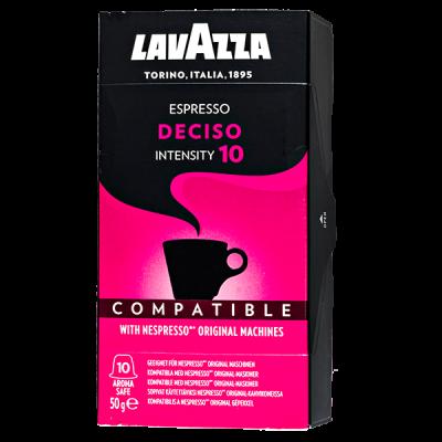 кофе капсулы LAVAZZA Espresso Deciso 1уп х 10 капсул