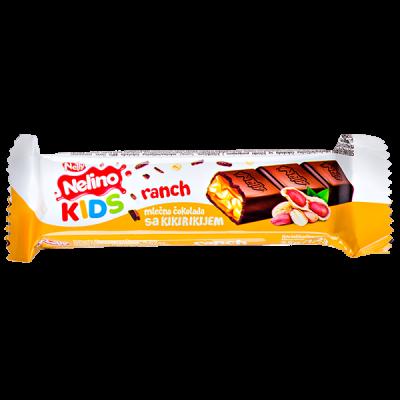 шоколад Nelino KIDS RANCH Арахис 35 г 1уп.х 39 шт
