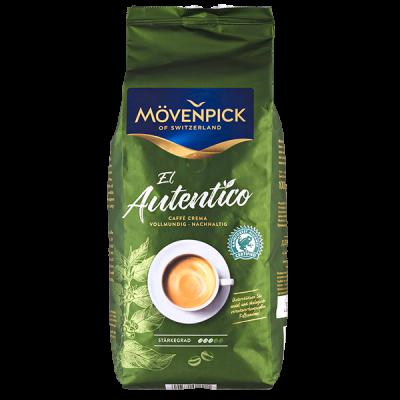 кофе MOVENPICK EL AUTENTICO 1 кг зерно 1 уп.х 4 шт.