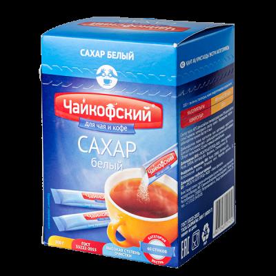 сахар ЧАЙКОФСКИЙ фасованный белый 300 г 1 уп.х 10 шт.
