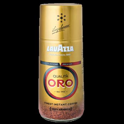кофе растворимый LAVAZZA QUALITA ORO 95 г ст/б 1 уп.х 6 шт.