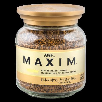 кофе AGF MAXIM GOLD растворимый 80 г ст/б