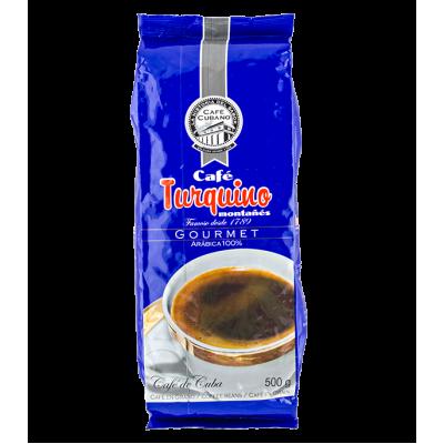 кофе TURQUINO MONTANES 500 г зерно 1 уп.х 16 шт.