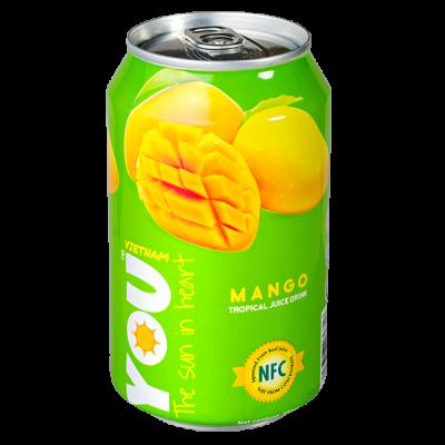 напиток YOU VIETNAM Mango 330 мл  Ж/Б 1 уп.х 24 шт.