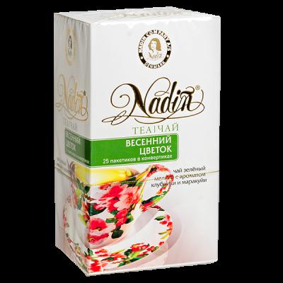 чай NADIN 'Весенний цветок' 25 пакетиков 1 уп.х 12 шт.