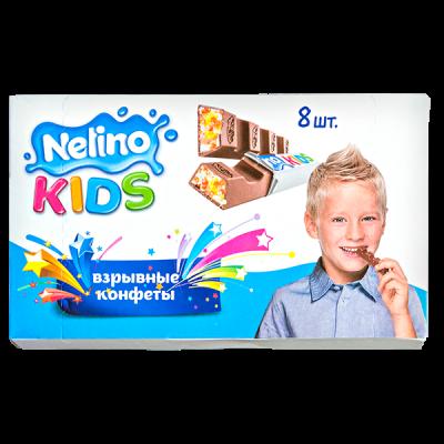 шоколад Nelino KIDS Взрывные конфеты 96 г 1уп.х 20 шт.