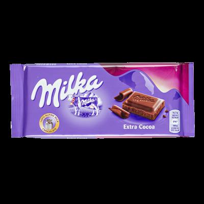 шоколад Милка Extra Cocoa 100 г 1 уп.х 23 шт.