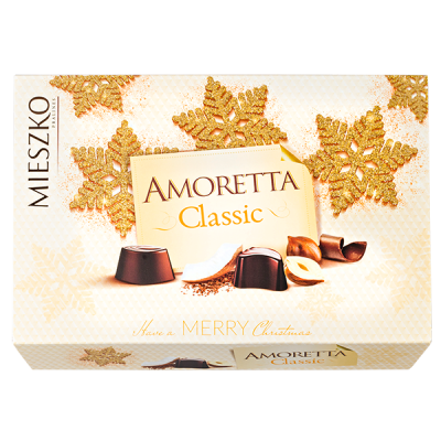 конфеты MIESZKO AMORETTA CLASSIC 280 г 1 уп.х 7 шт.
