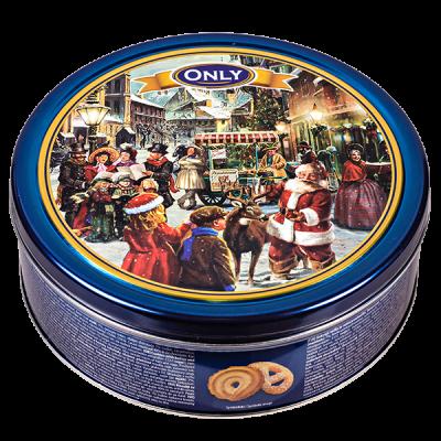 печенье НГ GUNZ ONLY Butter Cookies 454 г ж/б 1 уп.х 12 шт.