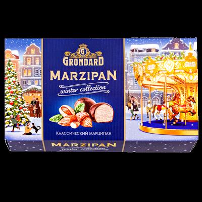 конфеты НГ GRONDARD MARZIPAN Winter Collection 140 г 1 уп.х 10 шт.
