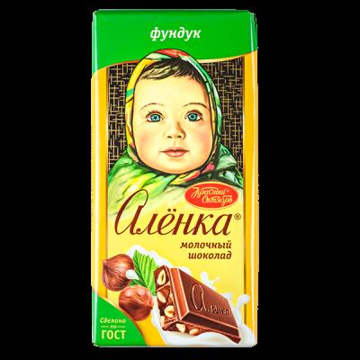 шоколад Аленка Фундук 90 г 1уп.х 15шт.